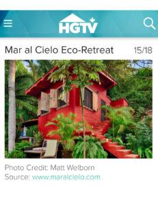 Mar al Cielo HGTV Vacation